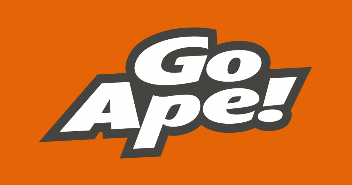 Image result for go ape logo